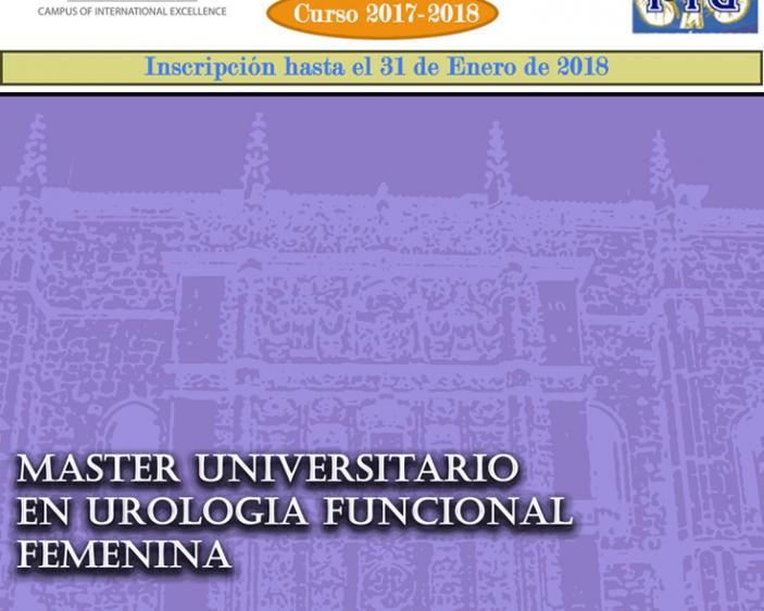 Máster en urología funcional, Femenina.