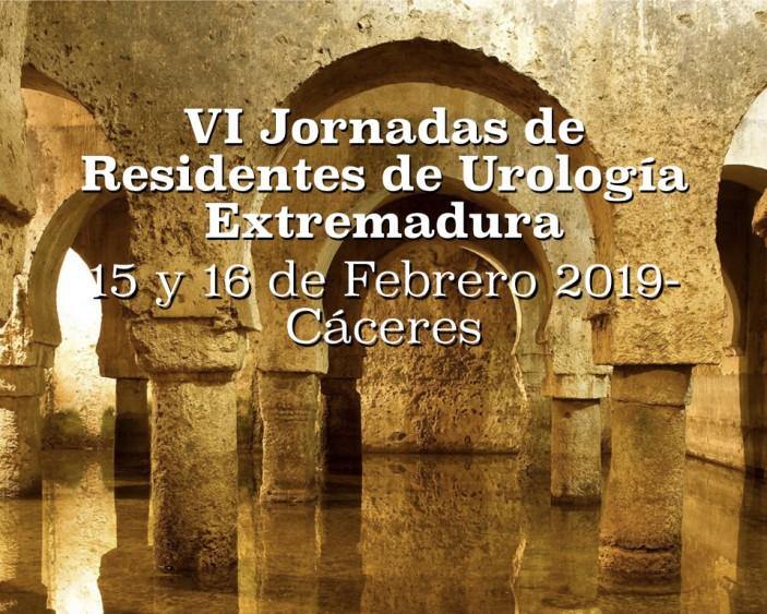VI JORNADA DE RESIDENTES DE UROLOGÍA DE EXTREMADURA