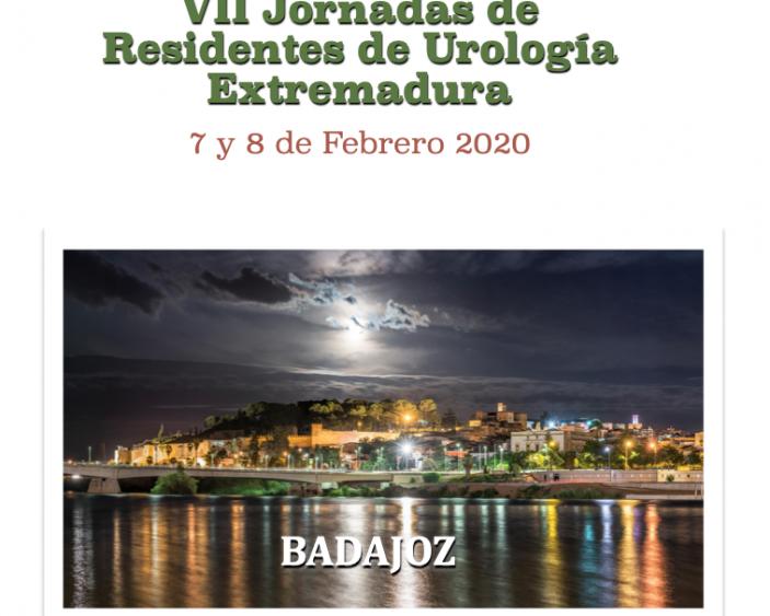 VII Jornadas de Residentes de Urología de Extremadura